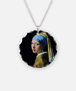 Jan Vermeer Girl With A Pear Necklace