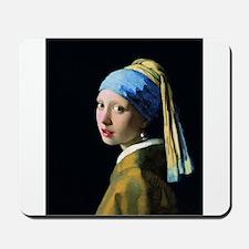 Jan Vermeer Girl With A Pearl Earring Mousepad