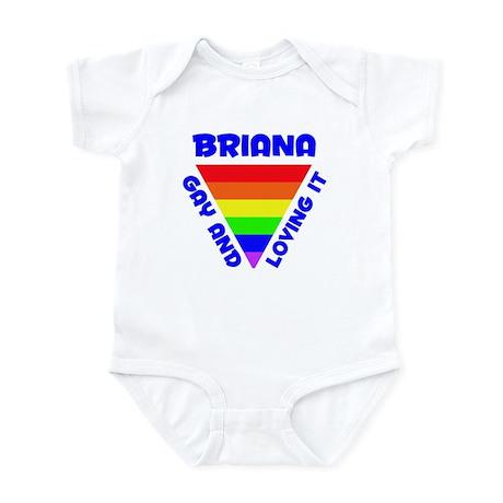 Briana Gay Pride (#005) Infant Bodysuit