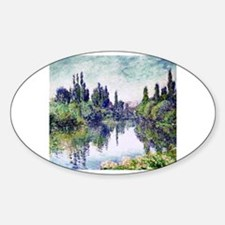 Unique Claude Sticker (Oval)