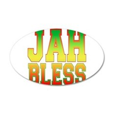 Jah Bless.png Wall Decal