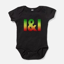 I and I.png Baby Bodysuit