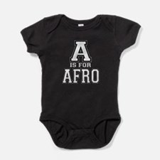 A is for Afro Baby Bodysuit