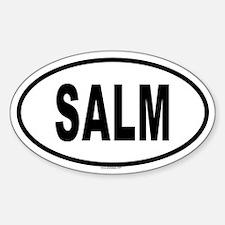 SALM Oval Decal