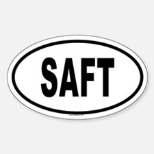 SAFT Oval Decal