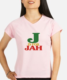 J is for Jah.png Performance Dry T-Shirt