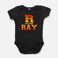 R is for Ray.png Baby Bodysuit