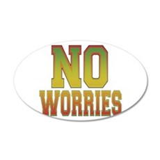 No Worries.png Wall Decal