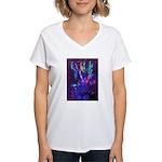 Blender.jpg Women's V-Neck T-Shirt