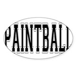 Paintball.png Sticker (Oval 10 pk)