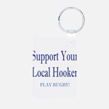 play rugby.png Keychains
