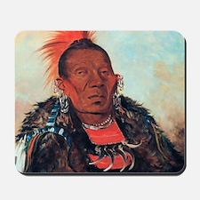 Wah-ro-nee-sah, Otoe Chief Mousepad