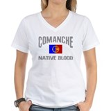 Comanche nation Womens V-Neck T-shirts
