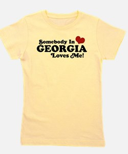 Somebody in Georgia Loves Me T-Shirt