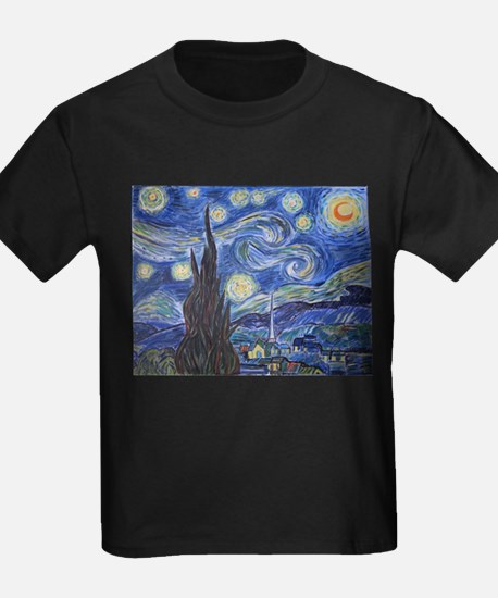 Starry Night, van Gogh art reproduction, a T-Shirt