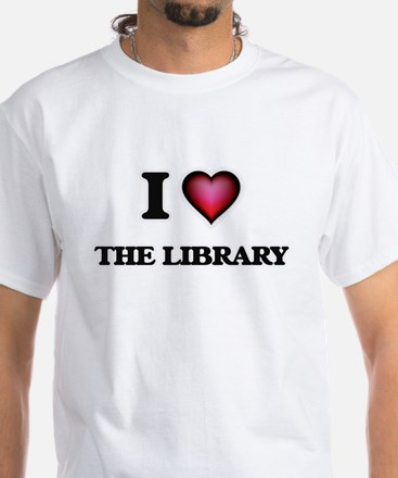 I love The Library T-Shirt