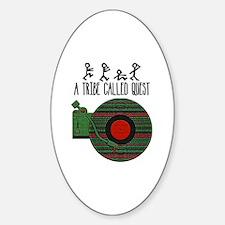 Cute Marauder Sticker (Oval)