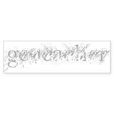 Geocacher Bumper Bumper Sticker