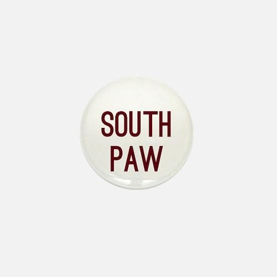 South Paw Mini Button