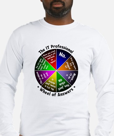 The IT Professional Long Sleeve T-Shirt