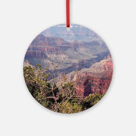 Grand Canyon North Rim, Arizona, US Round Ornament