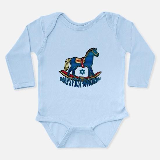 Baby's First Hanukkah Body Suit