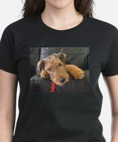 Sleepy Airedale Earnest T-Shirt