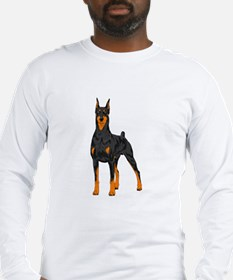 Doberman Pinscher Long Sleeve T-Shirt