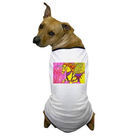 Winged Unicorn Dog T-Shirt