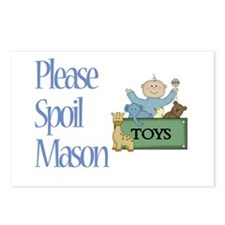 Please Spoil Mason Postcards (Package of 8)