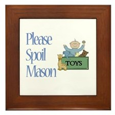 Please Spoil Mason Framed Tile