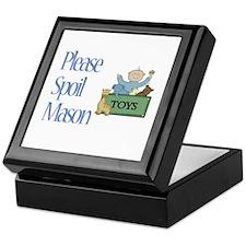 Please Spoil Mason Keepsake Box