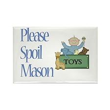 Please Spoil Mason Rectangle Magnet