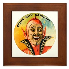 Sioux City Carnival Framed Tile