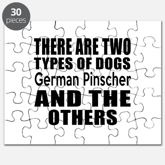There Are Two Types Of German Pinscher Dogs Puzzle