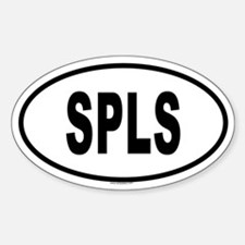 SPLS Oval Decal