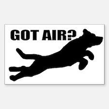 Got Air? Rectangle Decal