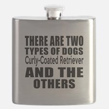 There Are Two Types Of Curly-Coated Retrieve Flask