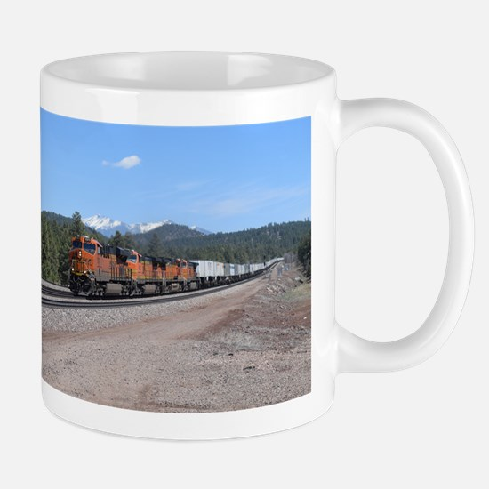 BNSF in Arizona 1 Mugs