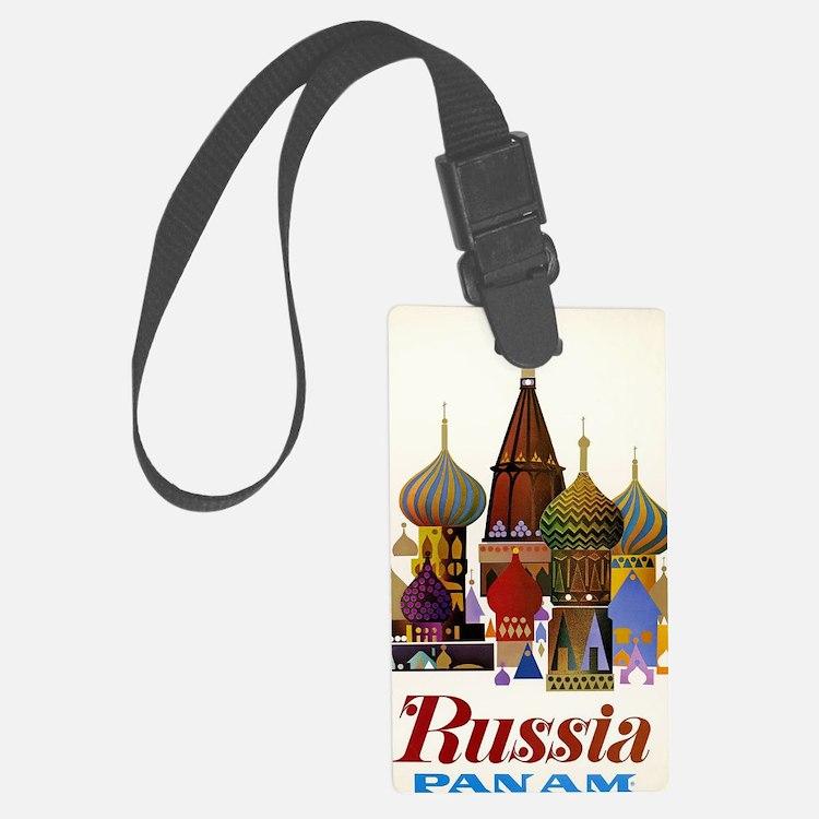 Cute Russian travel Luggage Tag