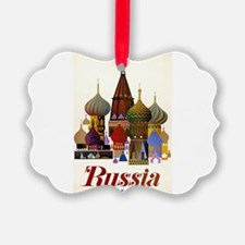 Travel To Russia Ornament