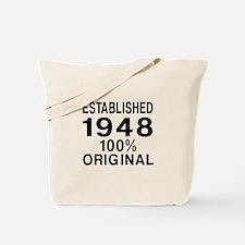 Established In 1948 Tote Bag