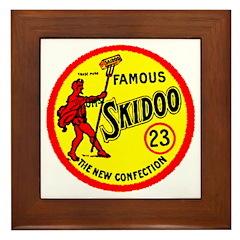 23 Skidoo Framed Tile