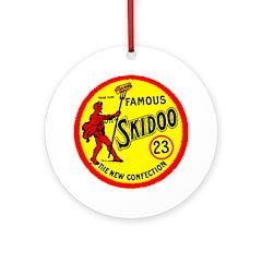 23 Skidoo Ornament (Round)