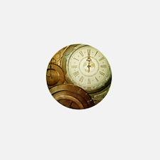 Steampunk, the clockswork Mini Button
