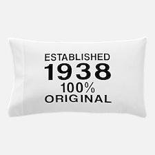 Established In 1938 Pillow Case