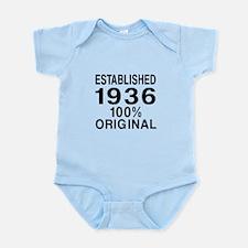 Established In 1936 Infant Bodysuit