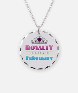 Royalty is Born in February Necklace