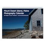 Mount Desert Island, Maine Photo Wall Calendar