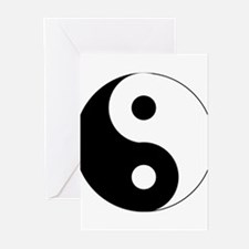 Yin & Yang (Traditional) Greeting Cards (Package o